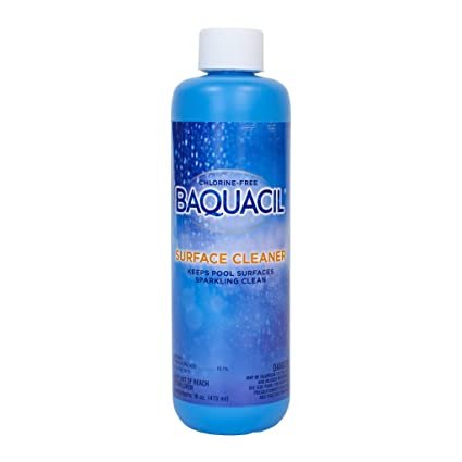 Baquacil 84461 Surface Cleaner Swimming Pool Chemical, Support Products,  Clear