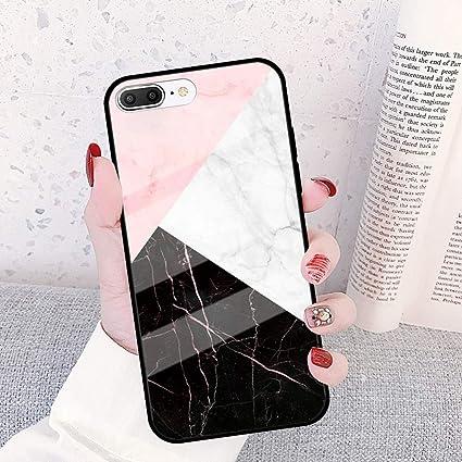 Cover iPhone 8 Plus con Marmo modello, Hpory Custodia iPhone 7 ...