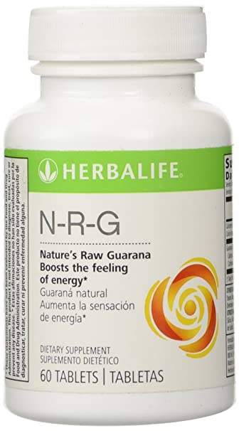 Herbalife N-R-G NATURES RAW GUARANA TABLETS