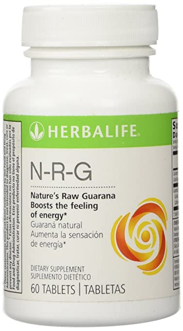 Amazon.com: Herbalife N-R-G NATURES RAW GUARANA TABLETS: Health & Personal Care