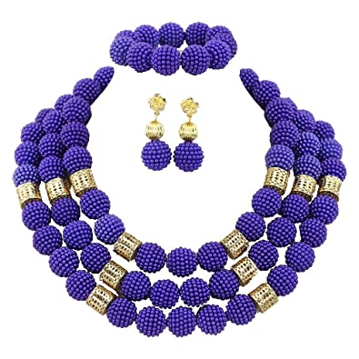 sans précédent rechercher le meilleur coût modéré AfricanBeads 20 mm-Bleu Roi-africain, Nigeria Perles de ...