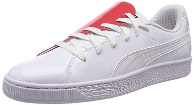 puma basket femme blanche