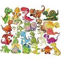 UKCOCO 100 Vellen Dinosaurus Stickers Dino Plakboek Stickers Koffer Vinyl Stickers Voor Laptop Bagage Bumper Notebook…