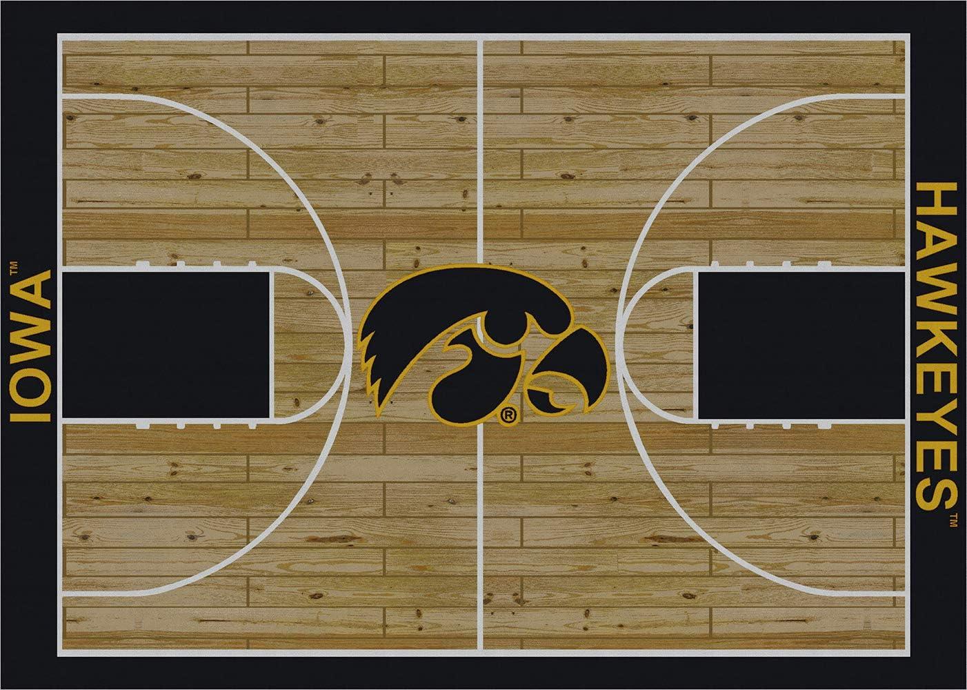 Milliken Iowa Hawkeyes Basketball Home Court Novelty Area Rug