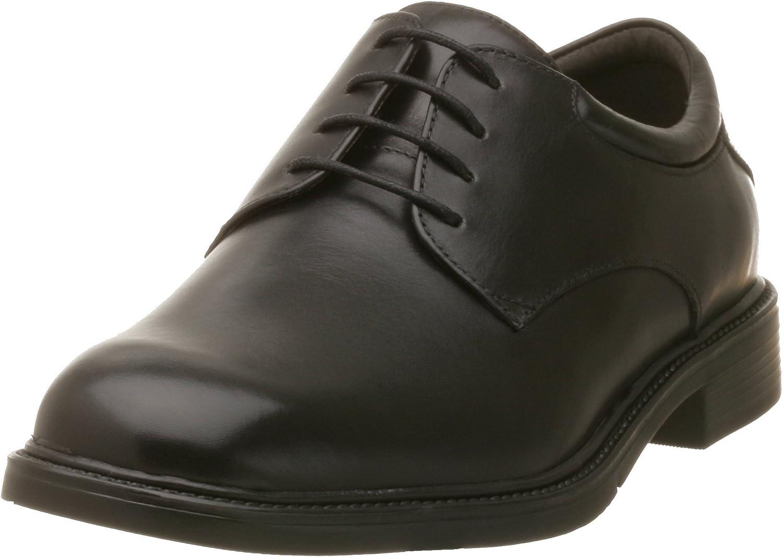 Nunn Bush Mens Maury Oxford,Black,7 M