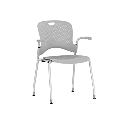 hot sales aa65f b2682 Herman Miller Caper Stacking Chair: Metallic Silver with ...