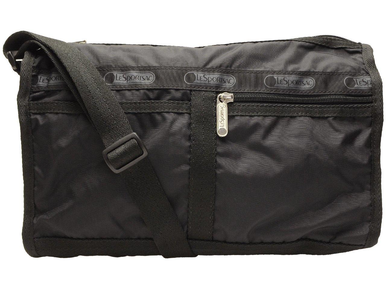 (レスポートサック) LeSportsac バッグ 斜めがけ ショルダーバッグ Deluxe Shoulder Satchel デラックス ショルダー サッチェル レディース ナイロン 7519 ブランド [並行輸入品] B01FRYPEUO Black/5982 Black/5982