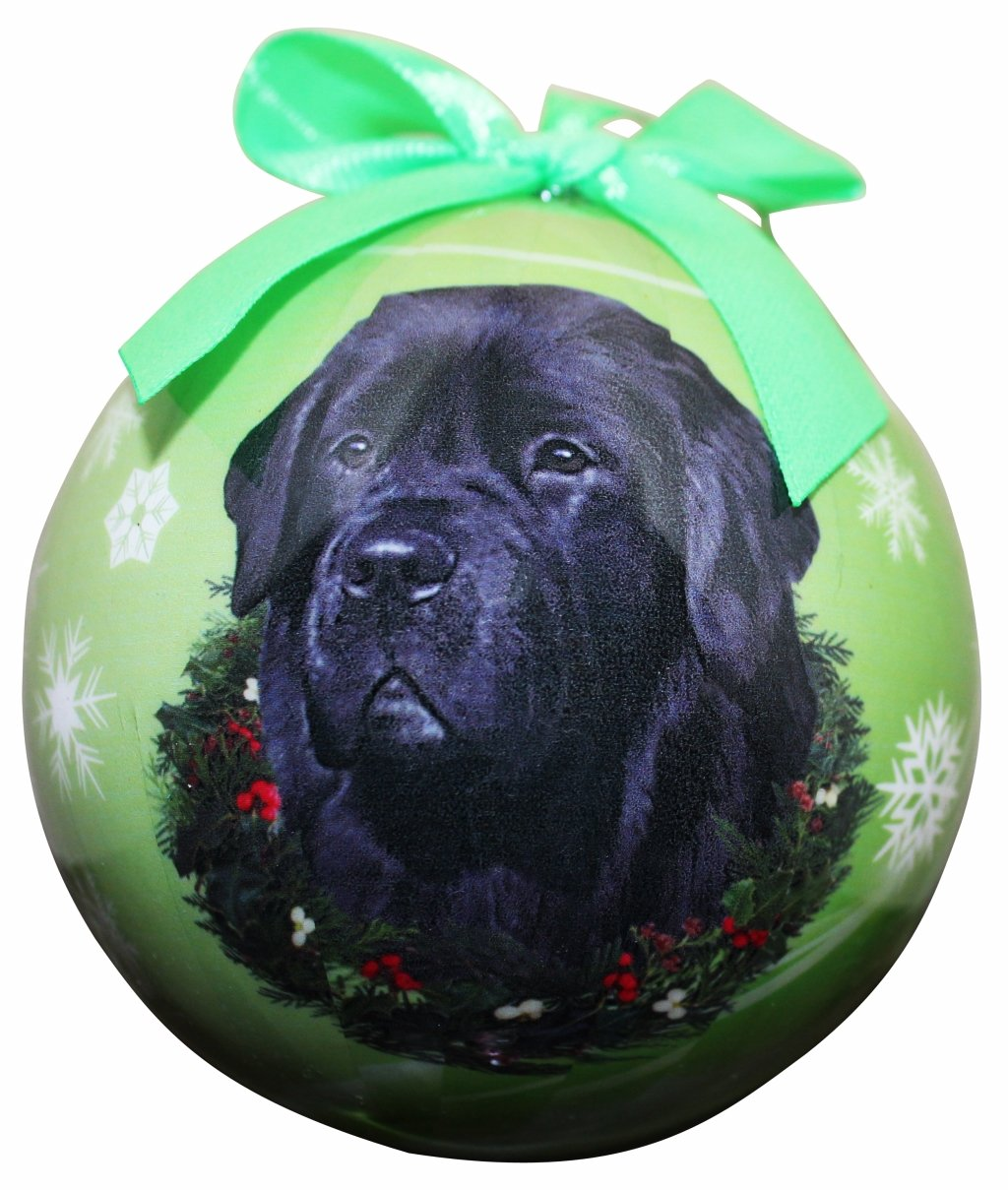 """Newfoundland Christmas Ornament"" Shatter Proof Ball Easy To Personalize A Perfect Gift For Newfoundland Lovers"