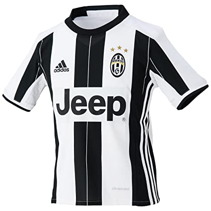 e7191d1dd84 adidas JUVE H JSY Y - 1st Football kit T-Shirt for of Juventus FC 2015 2016  for Boys  Amazon.co.uk  Sports   Outdoors