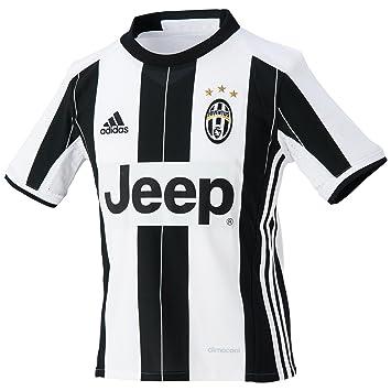 Adidas Juve H JSY Y Camiseta 1ª equipación Juventus FC 2015/2016, Niño: Amazon.es: Deportes y aire libre