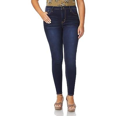 "WallFlower Women's Juniors Irresistible Denim Jegging Jeans (28-30-32"" Inseam): Clothing"