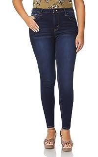 4ba28f4eba182 WallFlower Women s Juniors Plus Size High Rise Irresistible Denim Jegging