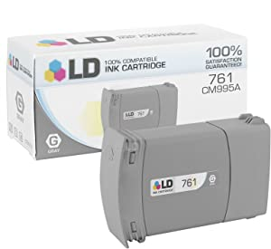 LD Remanufactured Ink Cartridge Replacement for HP 761 CM995A (Gray)