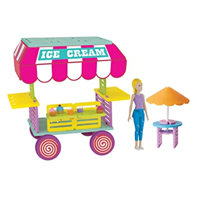 Roominate Sophie's Ice Cream Cart: Toys & Games