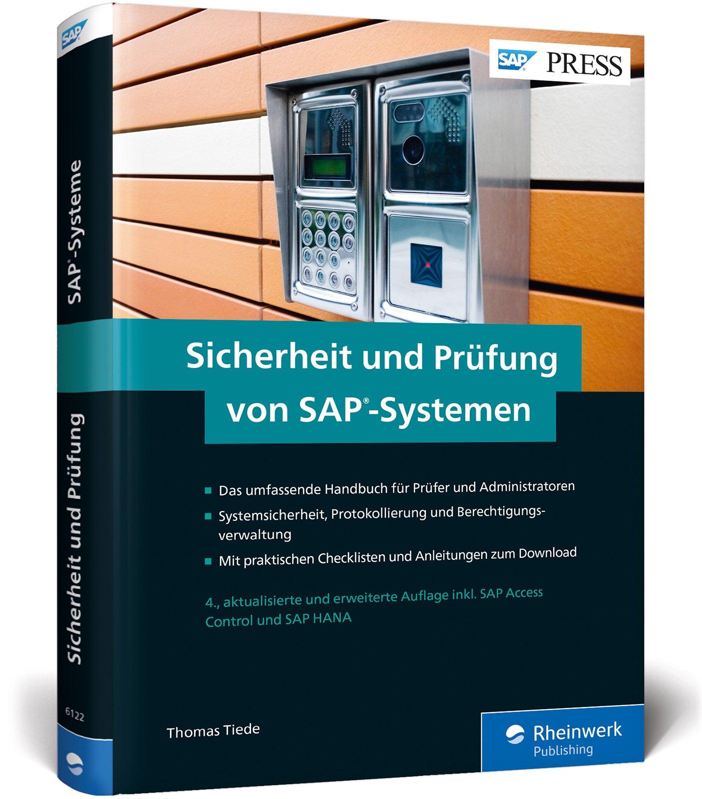 """Sicherheit und Prüfung von SAP-Systemen: Die Neuauflage von """"Ordnungsmäßigkeit und Prüfung des SAP-Systems (OPSAP)"""" (SAP PRESS)"""