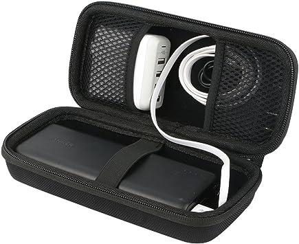 Khanka para Anker PowerCore 26800mAh Cargador portátil Power Bank.Fits USB Cable y USB Cargador Duro EVA Viaje Estuche Bolso Funda Case: Amazon.es: Electrónica