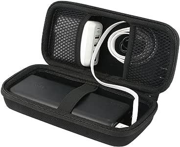 para Anker PowerCore 26800mAh cargador portátil power bank.Fits USB Cable y USB Cargador Duro EVA Viaje Estuche Bolso Funda Case para khanka: Amazon.es: Electrónica