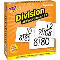 Trend Enterprises Division 0-12 All Facts Skill Drill Flash Cards