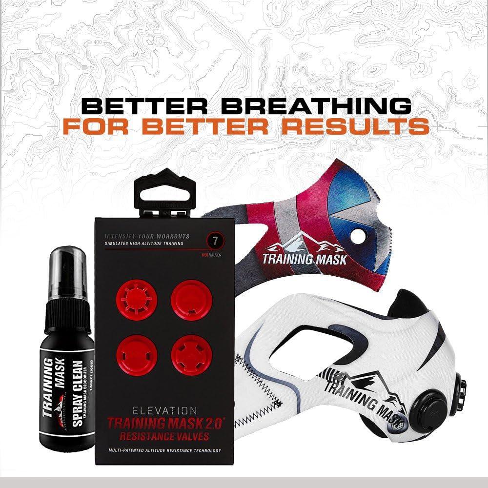 Elevation Training Mask 2.0 Altitude Mask Small: Amazon.es ...