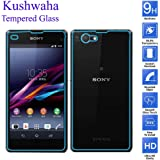 """Sony Xperia Z1 Compact -(4.3"""") Tempered Glass (Front & Back)"""