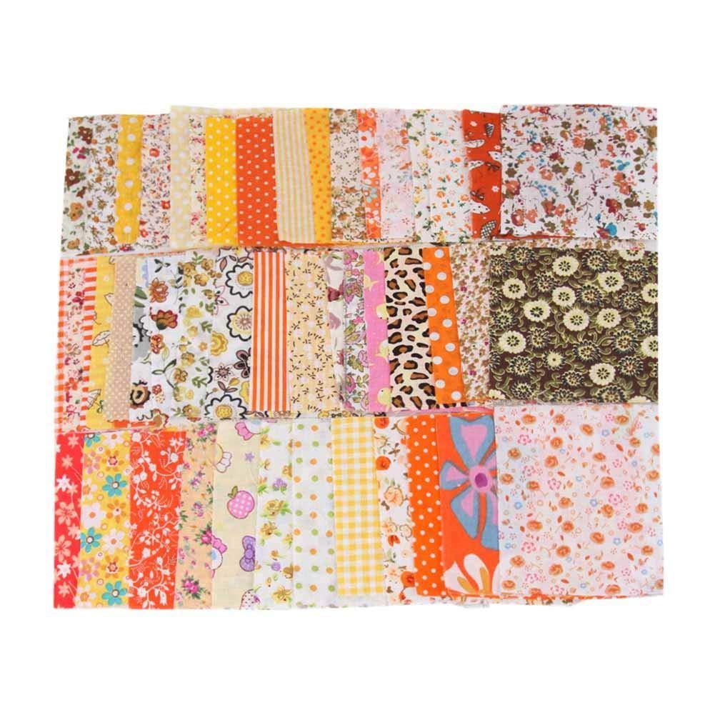 Brownrolly 50 PCS//Lot 10 10CM Mixte Imprim/é /À La Main DIY Coton Tissu /À Coudre Patch Artisanat V/êtements Couture Fournitures for/Sale