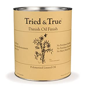 Tried and True Danish Oil, Pint