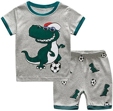 4b17e11bd1a Boys Pyjamas Train Kids Pjs Sets 100% Cotton Toddler Sleepwears Ages 2-7  Years  Amazon.co.uk  Clothing