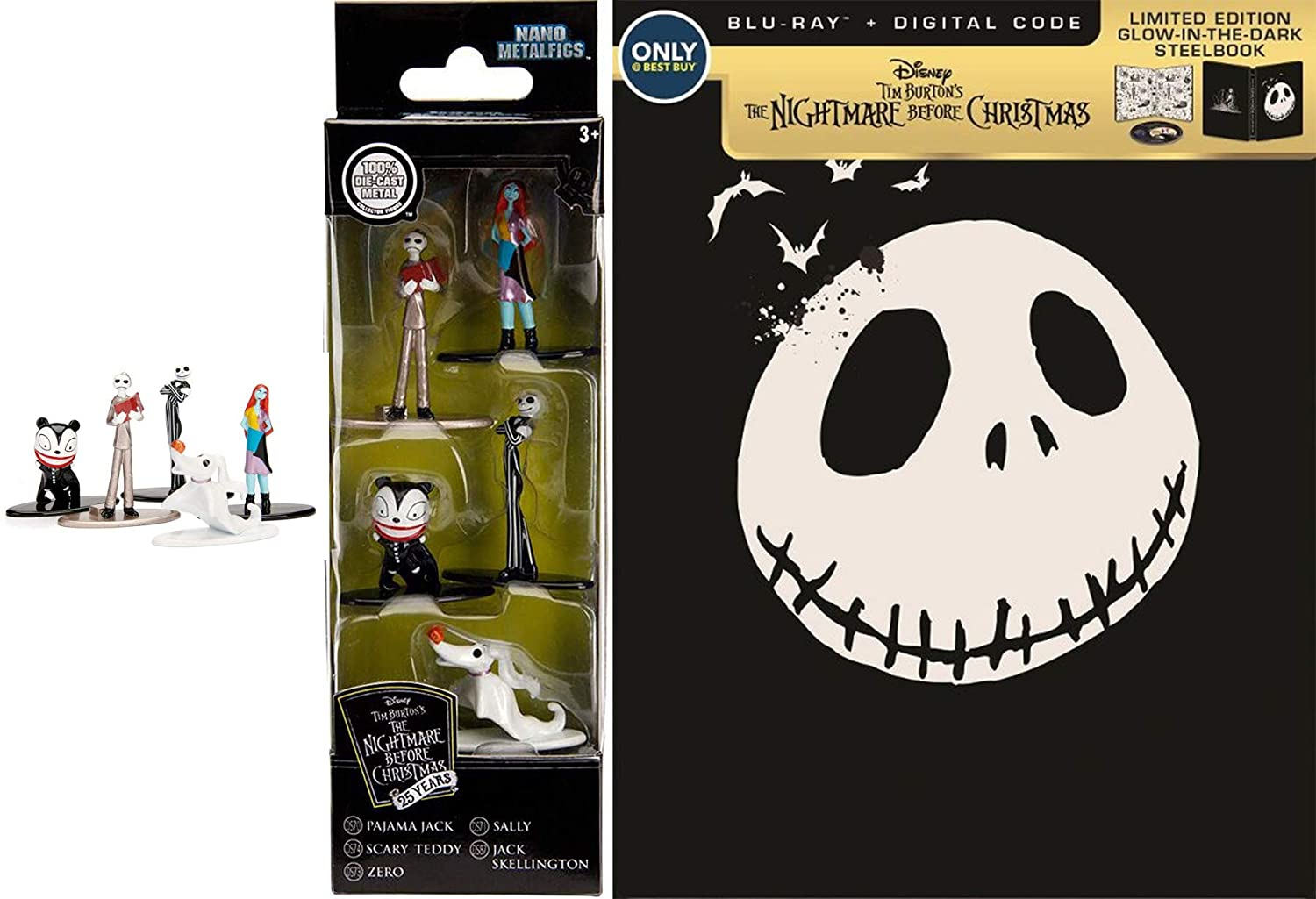 Amazon.com: Zero Jack Sally Disney The Nightmare Before Christmas ...