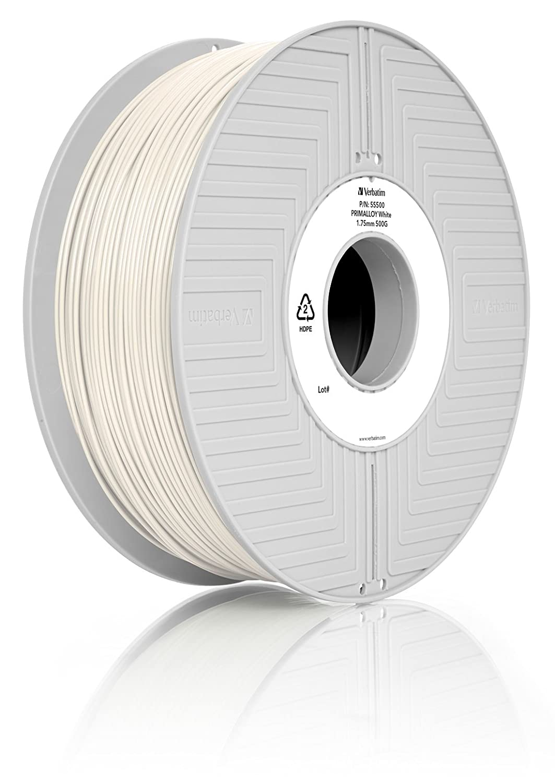 100% Quality Verbatim 55506 Primalloy Thermoplastic Elastomer tpe Black 500 G 1.75mm