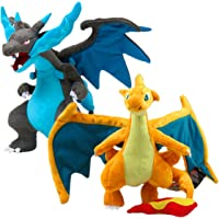 "[Generic] Pokemon Mega Charizard Plush 12' Plushie Toy Set2 Height:30-24cm/12-9.5"""
