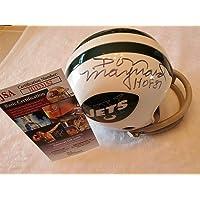 $124 » Don Maynard Autographed Signed Jets Mini Helmet JSA COA