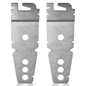 Paquete de 2 soportes de repuesto para lavaplatos, compatible con ...