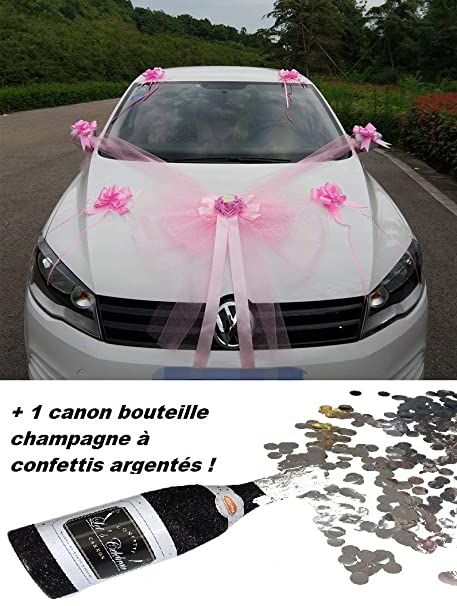 Luxury 11 Piece Wedding Decoration Kit Wedding Car Bow Bouquet