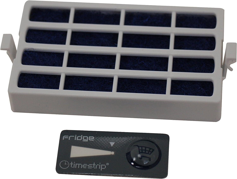 Original WHIRLPOOL K/ühlschrank Gefrierschrank Microban Antibakterielle Filter 481248048172