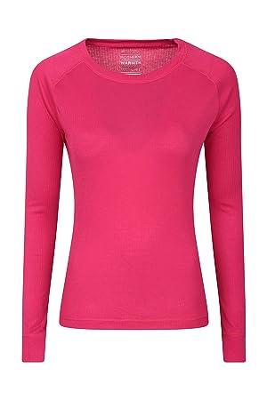 159890fd821e Mountain Warehouse Talus Womens Long Sleeves Baselayer Top - Thermal  Underwear, Lightweight Ladies Tee Shirt