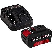 Einhell Power X-Change - Kit cargador con batería 3.0 Ah 18 V, duración de carga de 60 minutos