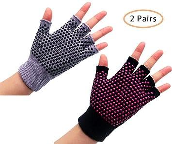 Amazon.com: YL TRD V, 2 pares de guantes de agarre ...