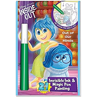Disney/Pixar Inside Out 2in1 Invisible Ink & Magic Pen Painting Book: Toys & Games