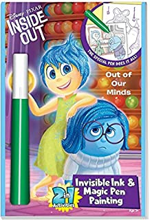 disneypixar inside out 2in1 invisible ink magic pen painting book - Magic Ink Coloring Books