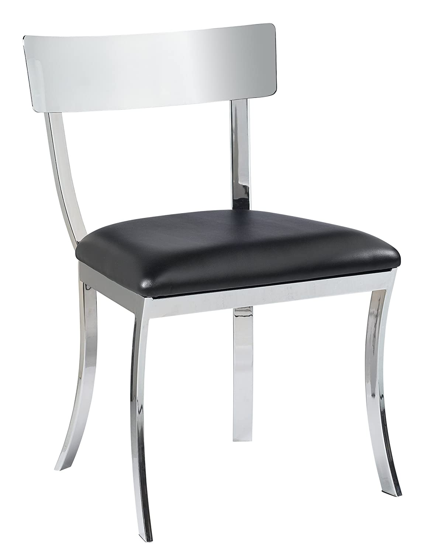 Sunpan Modern Maiden Dining Chair, Set of 2, Black