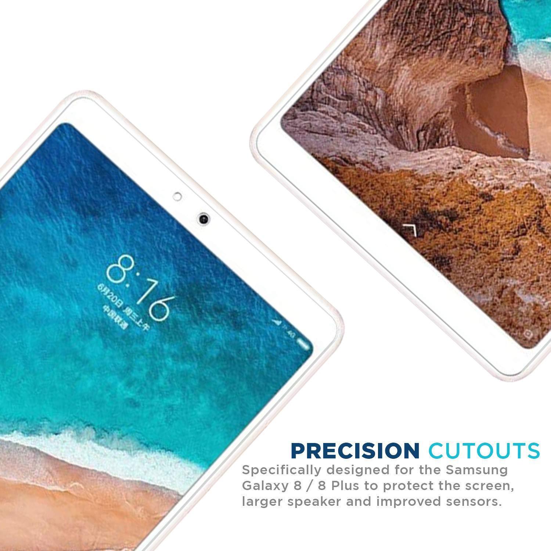 Ferilinso 2 Pi/èces Verre Tremp/é Xiaomi Mi Pad 4,Protection /écran Screen Protector Film Protection d/écran en Glass Screen Protector Vitre Tempered avec Garantie de Remplacement /à Dur/ée de Vie