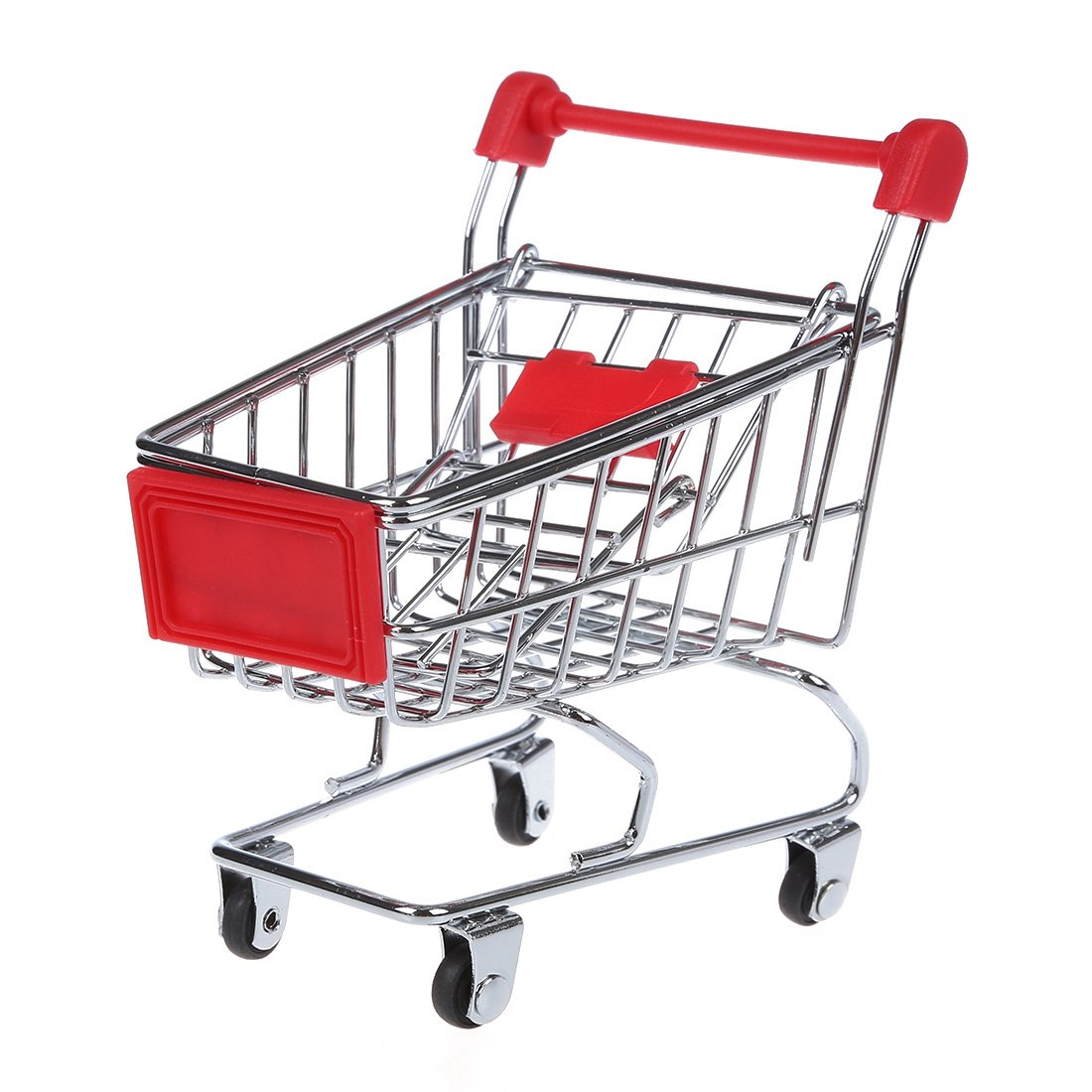 Amazon.com: TOOGOO Mini Supermarket trolley Pen Holder Childrens Toys (Red): Cell Phones & Accessories