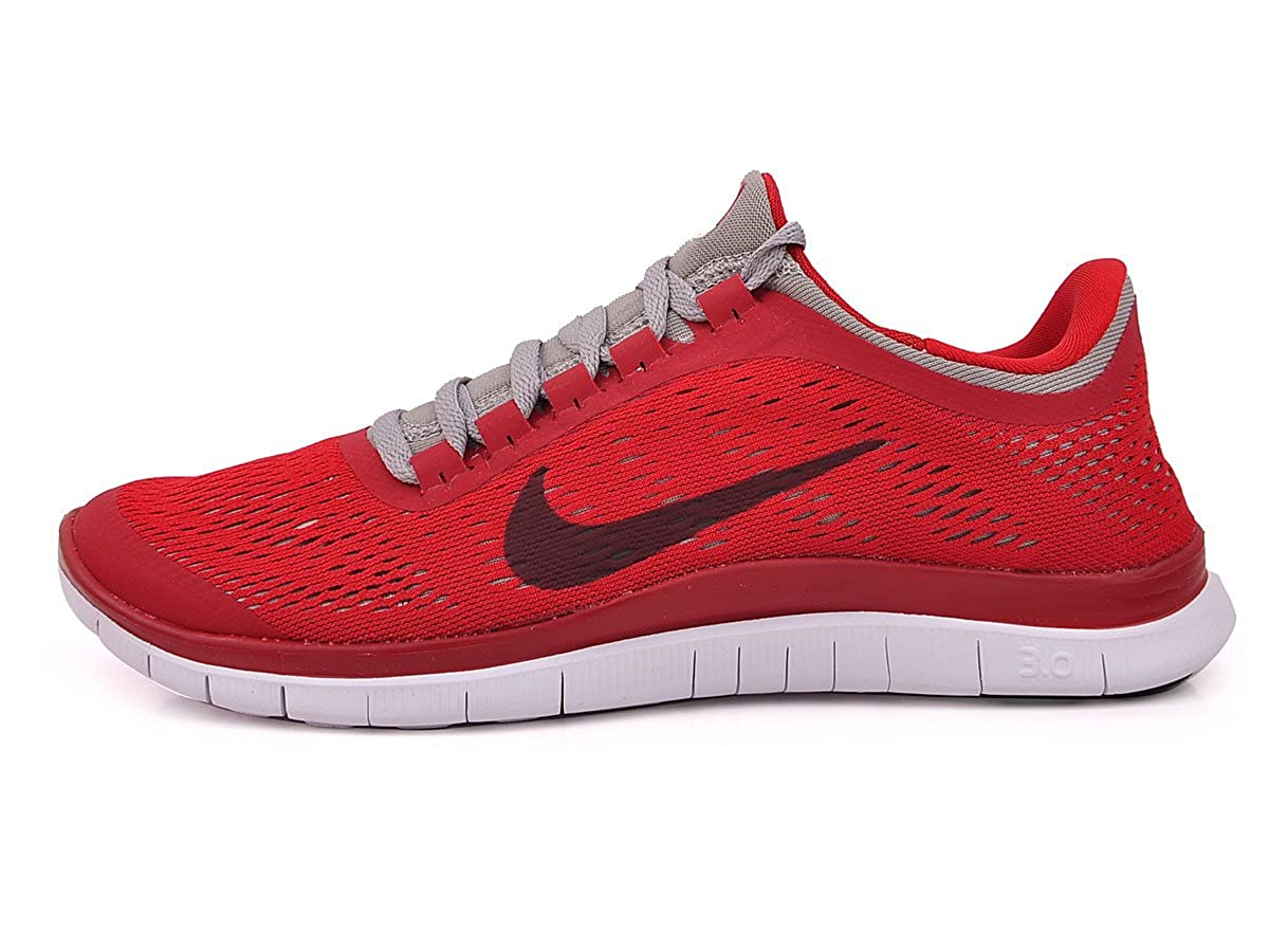 quality design 9bd7f 38581 Nike Free 3.0 V5 Mens Running Trainers Red Grey Size UK 14  Amazon.co.uk   Shoes   Bags