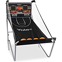 Yoleo Indoor Basketball Arcade Game, Official Dual Shot Sport – 10 Games and 6 Audio Options – Durable Construction…