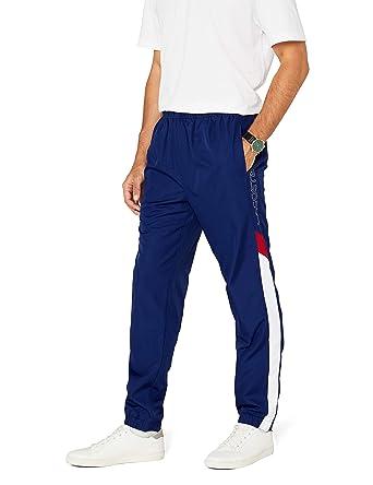 b1d62cacb8 Lacoste Sport XH8248, Pantalon de Sport Homme, Bleu (Oceane/Blanc-Coccinelle