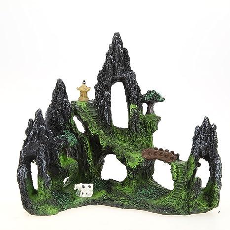 Reino submarino para la decoracion de peceras, acuarios y estanques