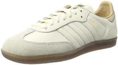 adidas Samba W, Chaussures de Sport Femme - Noir - Noir (Negbas/Negbas/Dormet), 44 EU
