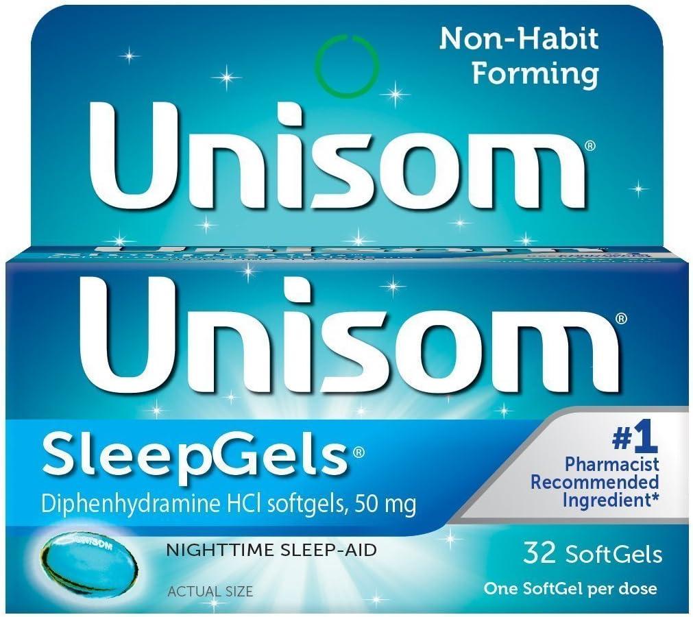 Unisom SleepGels 32 Caps (Pack of 3)