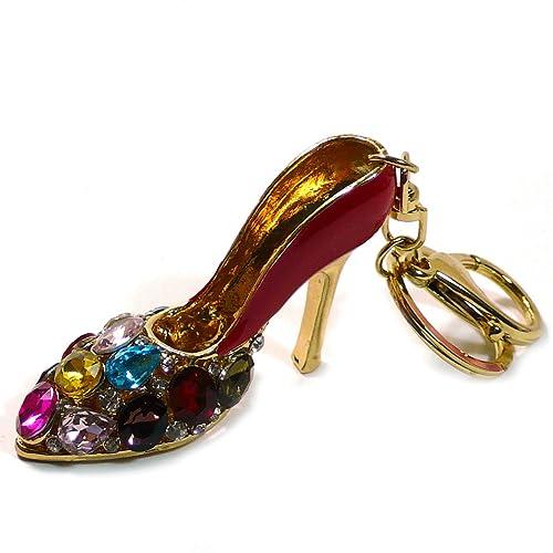 Amazon.com: Teri Boutique Zapato Rojo del Alto talón ...