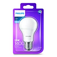Philips LED Light Bulb (E27 Edison Screw 13.0W A60) - Cool White